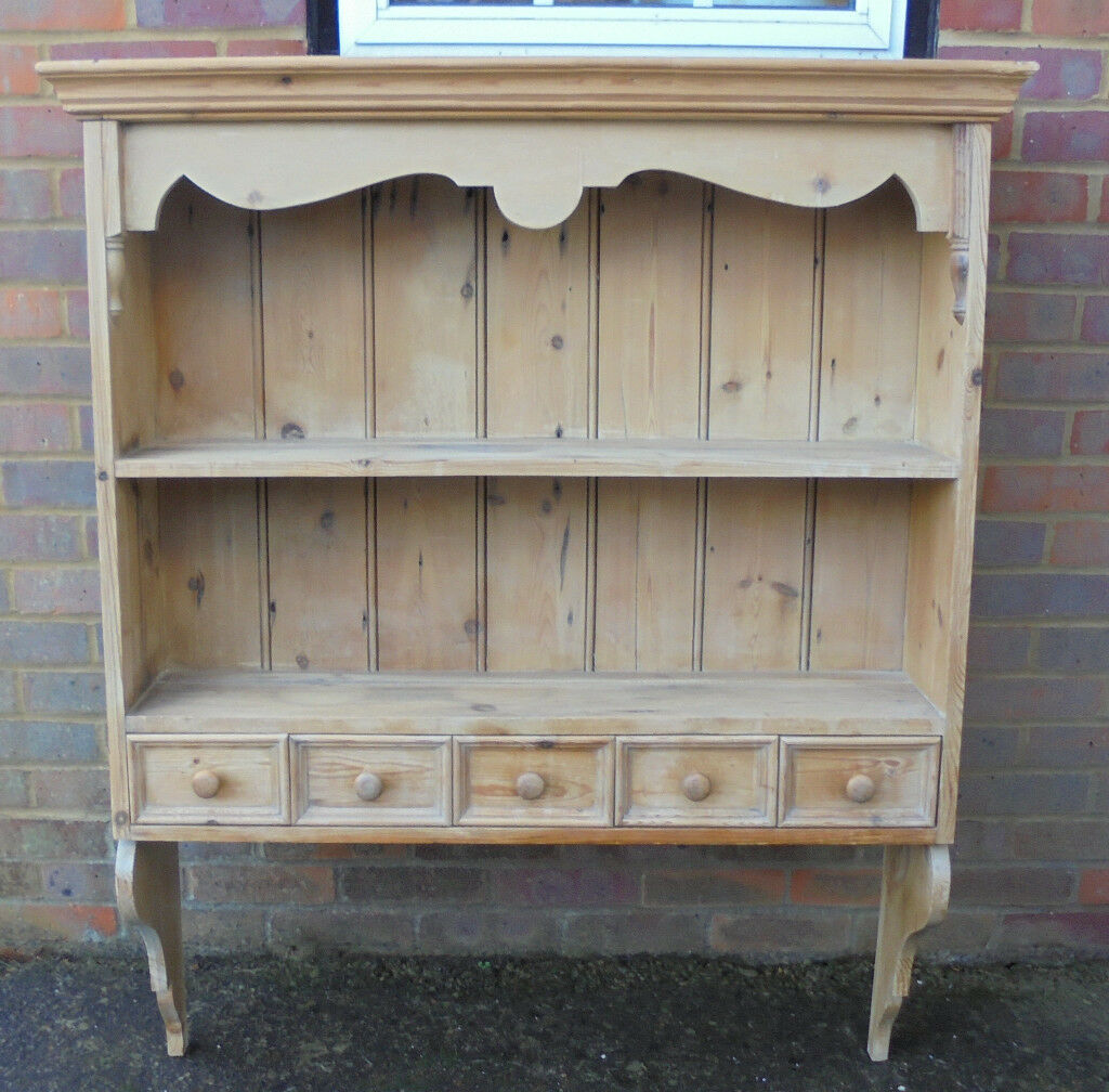 Kitchen Shelf Gumtree: Pine Wall Dresser/plate Rack