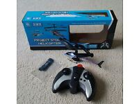 Project Storm Helicopter Remote Control Christmas Gifts Presents