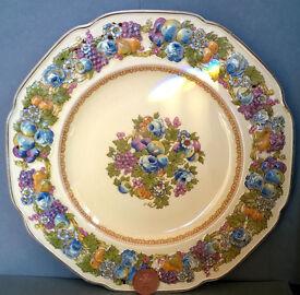crown ducal florentine plate