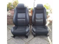 Saab 9.5 2002 front leather seats