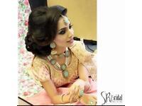 Indian bridal makeup/Asian bridal makeup/henna artist/mehndi/bridal makeup/arabic makeup/bridal hair