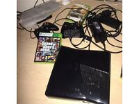 Xbox 360 slim Kinect and games for sale