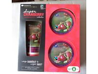 SUPER CRANBERRY BODY WASH SET - BRAND NEW