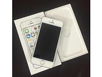 IPHONE 5S GOLD 16GB VODAFONE BOXED WITH ACCESSORIES