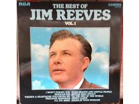 Jim Reeves Vinyl LP Record Collection (6), Dennistoun