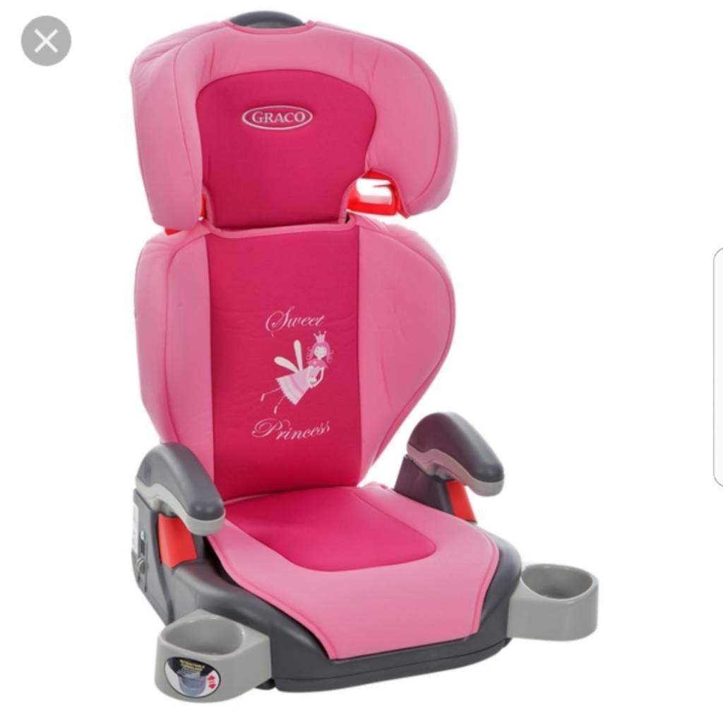 Graco Pink Car Booster Seat