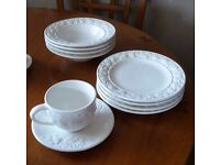 Final price drop - New and unused M&S Dinner Service and serving dishes