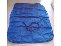 """Inflatable Air Bed Approximately 5ft 7"""" x 4ft 4"""" (no pump)"""