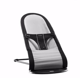 BabyBjorn bouncer babysitter black/grey