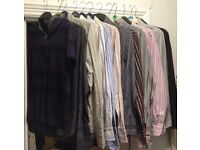 11 x Ted Baker shirts all size 3 and one size 3 Ted Baker polo shirt. Happy to accept sensible offer