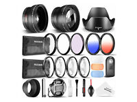 Neewer 52 mm & Baby Accessory Set for Nikon