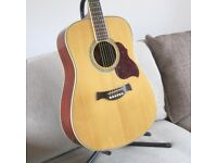 Stunning High End Crafter D8/N Acoustic Guitar.