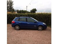 ** PRICE REDUCED ** Renault Clio 1.5 Diesel Dynamique, 5 door, 2010, 60,000 miles, 55mpg, TomTom