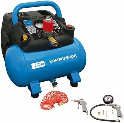 GÜDE 50089 Kompressor Druckluftkompressor Kolbenkompressor Tragbar Mobil Ölfrei