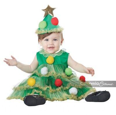Kleinkind Weihnachtsbaum Kostüme (California Kostüme Lil' Weihnachtsbaum Kleinkind Mädchen Holiday Weihnachten)