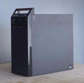 Lenovo ThinkCentre E73 Tower Corei5-4430s 2.70GHz 128GB SSD + 500HD + 8GB Ram
