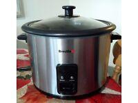 Breville 1.8L Rice Cooker And Steamer - St/Steel