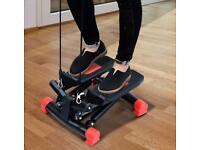 Mini Stepper Home Fitness Leg Arm Cord Training Gym Exercise Machine