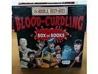 Box set of 19 Horrible Histories Books
