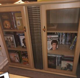 CD and DVD Storage Cabinet