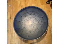 Brand new steel pans