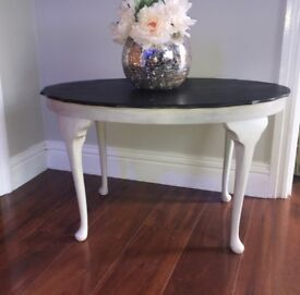 Vintage Retold refinished farmhouse style coffee/side table