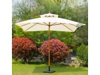 Large umbrella parasol NEW in box