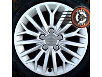 """16"""" Genuine Audi A3 Multispoke alloys perf cond excel Michelins"""
