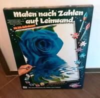 Malen nach Zahlen 60x80 Blaue Rose Neu und OVP Bayern - Gallmersgarten Vorschau