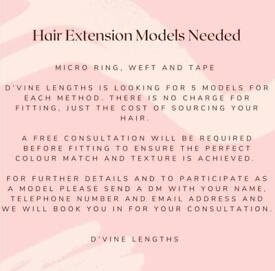 Hair Extension Models Required (FREE FITTING)