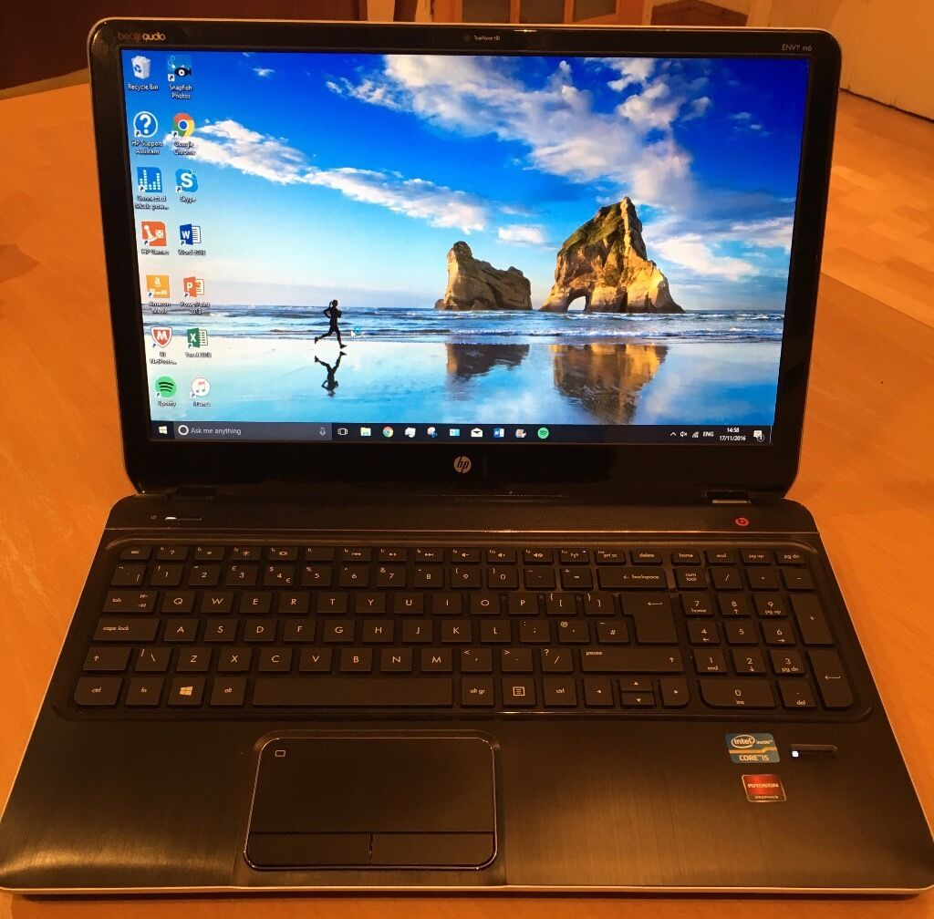 Perfect Condition Hp Envy M6 Laptop With Microsoft Office 2017