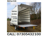 MAN & VAN HIRE, REMOVALS, collections, CHEAP PRICES, Deliveries, HOUSE REMOVALS, 24/7