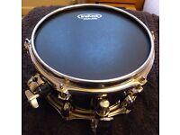 "Mapex Black Panther Stinger 10"" Snare Drum + Protection Racket Case"