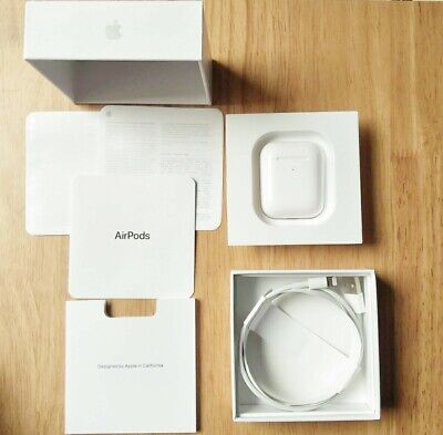 Brand New Apple AirPods 2nd Generation with Charging Case - White