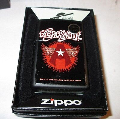 AEROSMITH ZIPPO LIGHTER AUTHENTIC 2016 LICENSED ROCK N ROLL