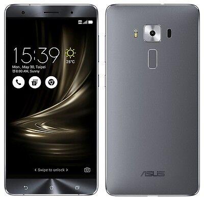 """ASUS ZenFone 3 Deluxe ZS570KL Gray (Factory Unlocked) 64GB 5.7"""" HD 6GB RAM"""