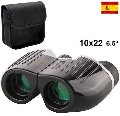 Prismaticos Binoculares con zoom 10x22 camping caza deporte vigilancia acampada