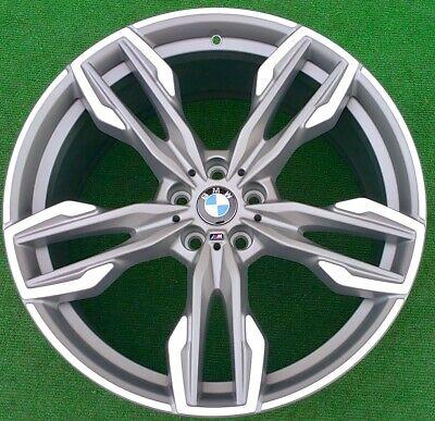 Factory BMW X3 X4 21 inch Wheels Set 4 Genuine Original OEM 718M Titanium M40i
