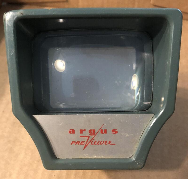 Vintage Argus  PreViewer For  Slides