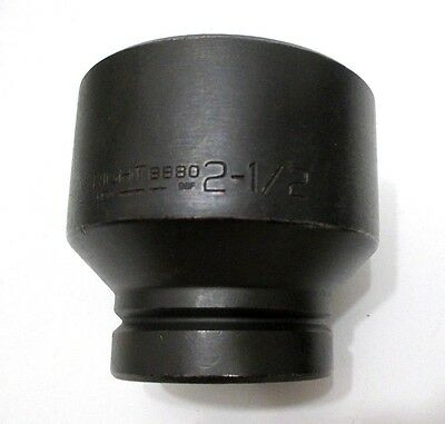 Wright Tool 8880 2-12 Impact Socket 1 Drive 6-point 2-12 In. Made In Usa
