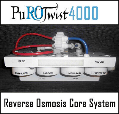 PuROTwist 4000 Reverse Osmosis Core 4 Stage System Only - Better than New - READ