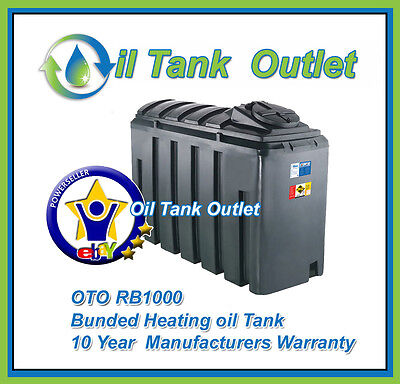 OTO Bunded Heating Oil Tank  ~1000ltrs Rectangular Domestic