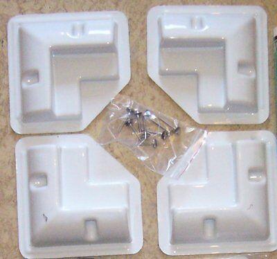Solara,Eckprofilset,HSE,4 Montageecken f.Solarmodul auf Wohnmobil,Boot,Eckprofil