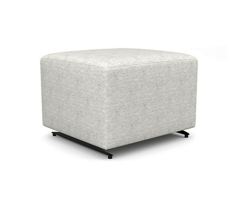 Best Chairs Story Time Series Model 0016 Gliding Ottoman in Soft Grey