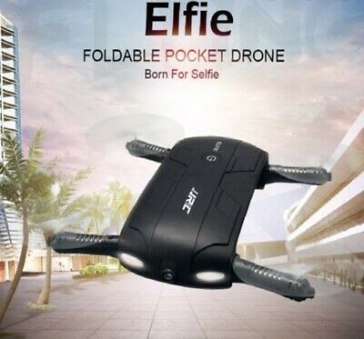 JJRC H37 ELFIE WIFI RC Quadcopter Pocket 0.3MP Camera Foldable Selfie Drone Toys