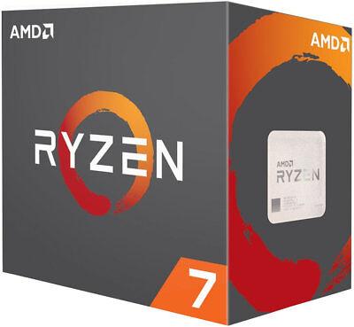 AMD Ryzen R7 1700 (8x 3,0/3,7GHz) 16MB Sockel AM4 CPU BOX mit Wraith Kühler