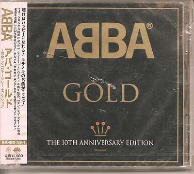 ABBA CD - Gold 10th Anniversary Edition BRAND NEW