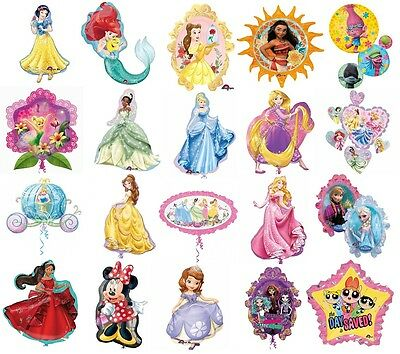 Disney Princess SuperShape Balloons Mylar Foil Balloon Birthday Party Decoration](Princess Party Decor)