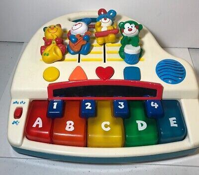 2000 FISHER PRICE WORKING SOUND MIXING SMARTRONIC LEARNING PIANO ABC 123