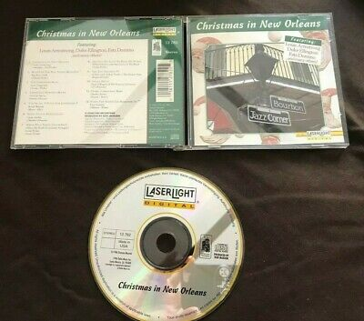 Christmas in New Orleans Audio CD Various Dixieland Jazz Artists Laserlight  ()